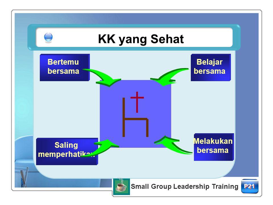 적용질문의 예 P24 Small Group Leadership Training Keseimbangan Pertanyaan P35 Small Group Leadership Training