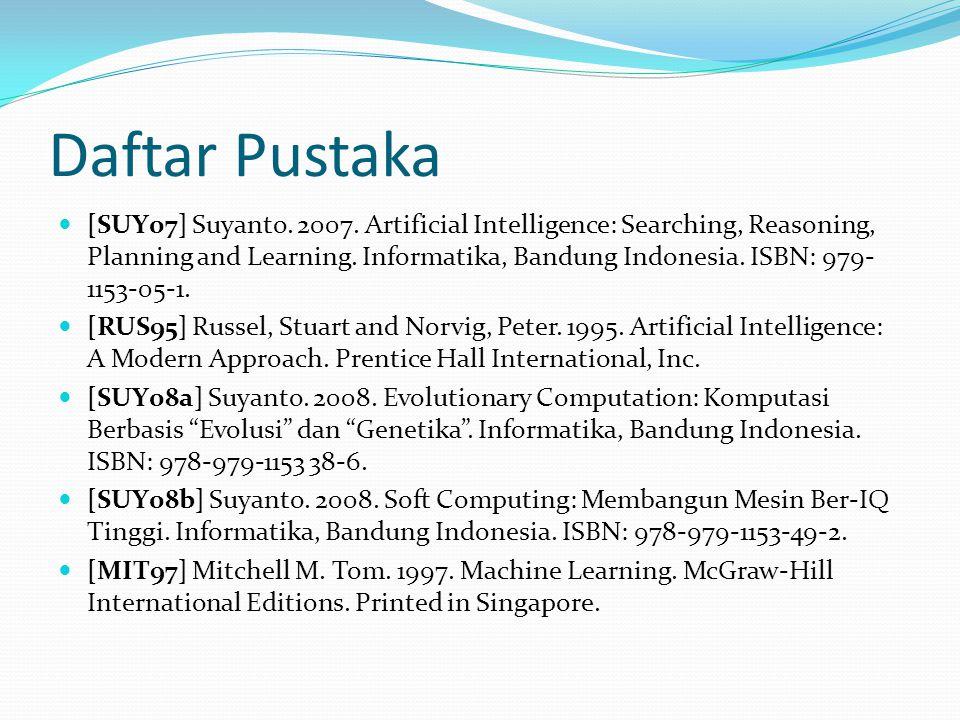 Daftar Pustaka [SUY07] Suyanto.2007.