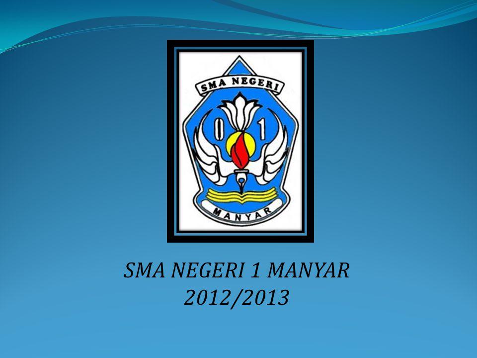 SMA NEGERI 1 MANYAR 2012/2013