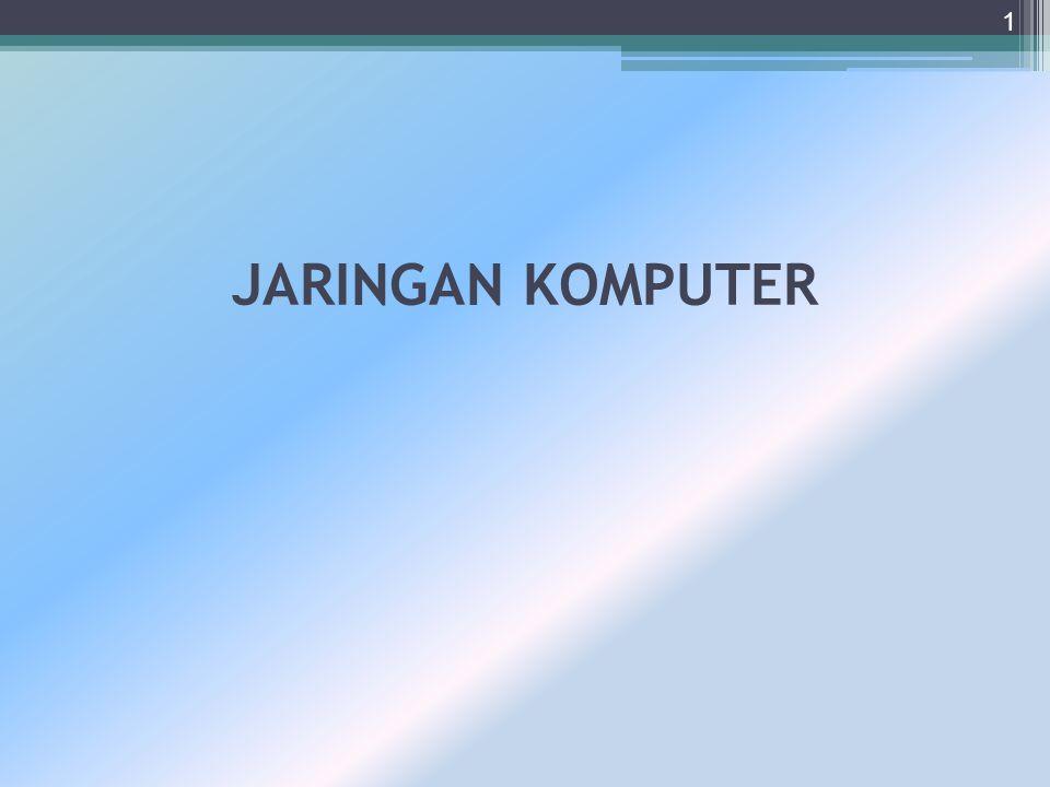 JARINGAN KOMPUTER 1
