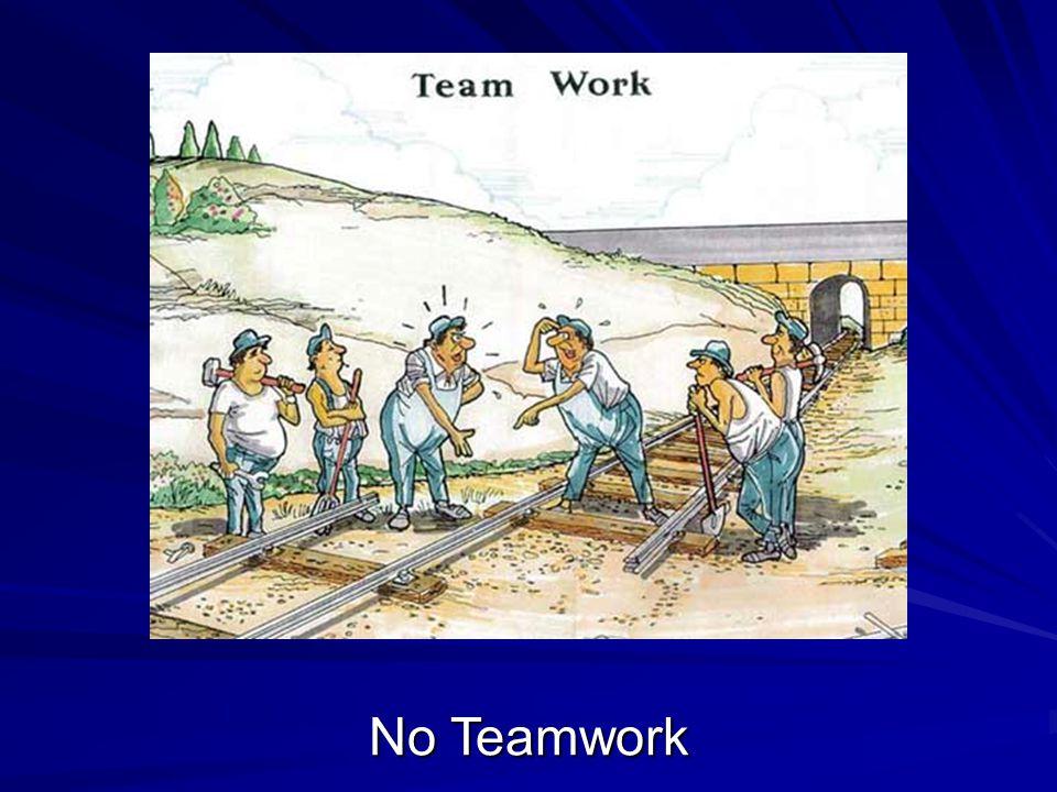 No Teamwork