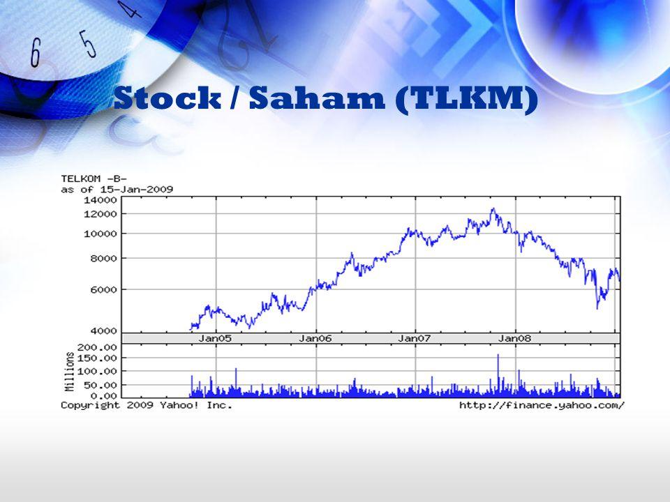 Stock / Saham (TLKM)