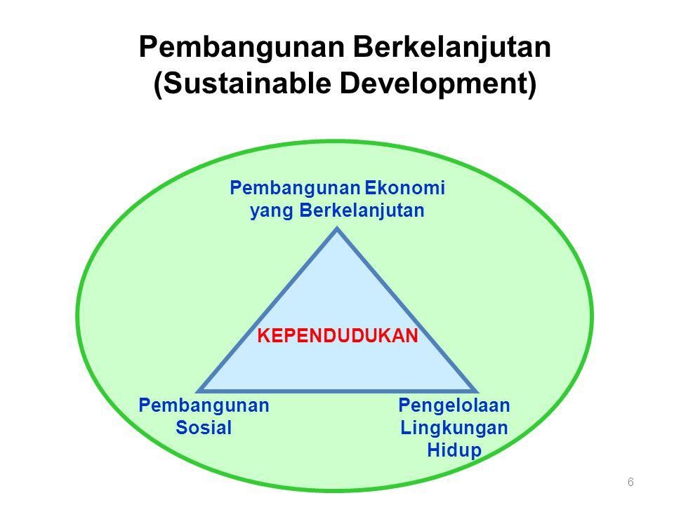 Pembangunan kependudukan harus dilakukan secara terpadu dan berkelanjutan oleh seluruh elemen pembangunan.