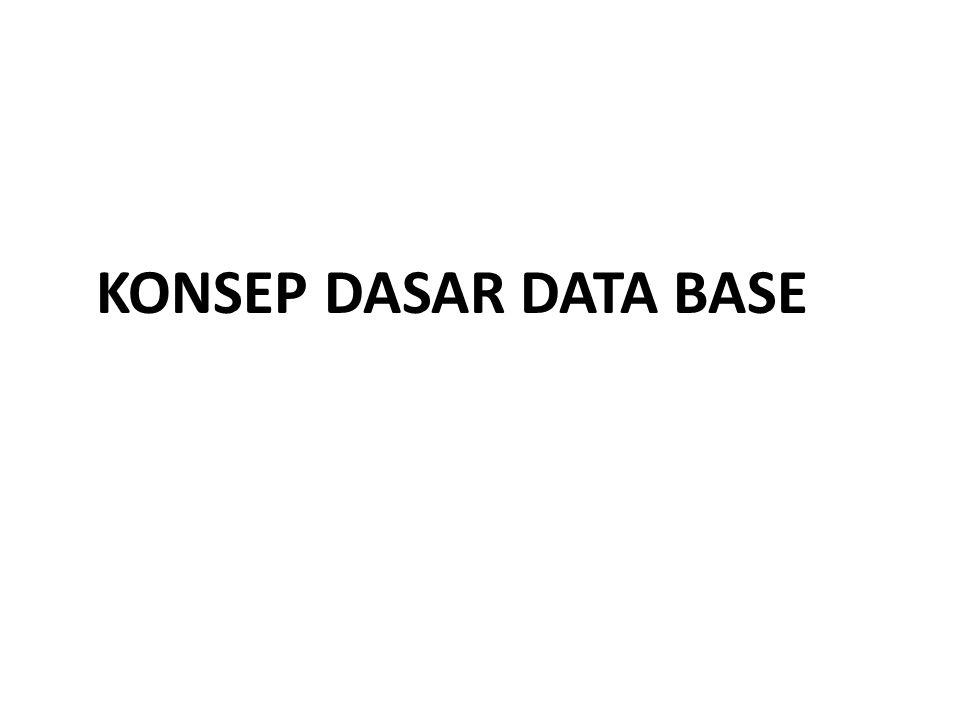 Latihan Soal Sistem Basis Data 3.Yang merupakan pemakai (User) dari database adalah kecuali : a.