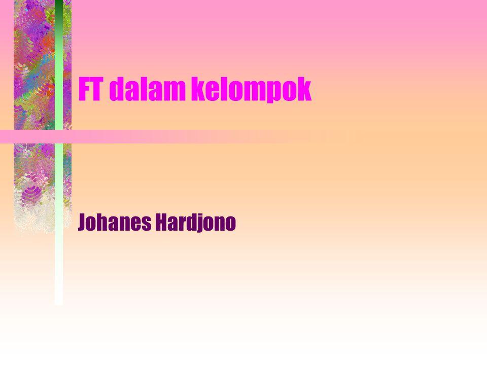 FT dalam kelompok Johanes Hardjono