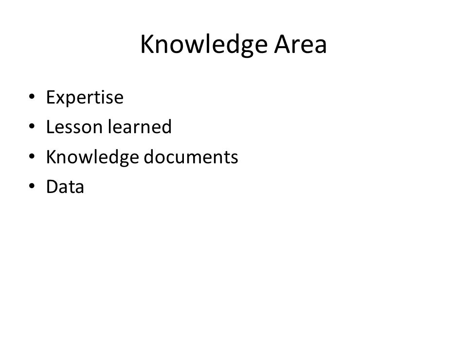 Domain Manajemen Pengetahuan People Process Technology