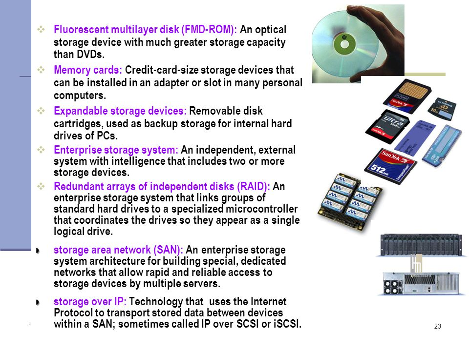 Copyright 2005 John Wiley & Sons Inc. TG 123  Fluorescent multilayer disk (FMD-ROM): An optical storage device with much greater storage capacity than DVDs.