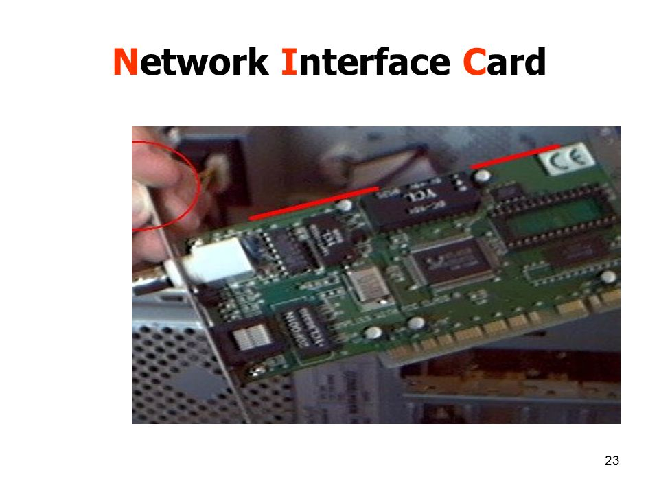 23 Network Interface Card
