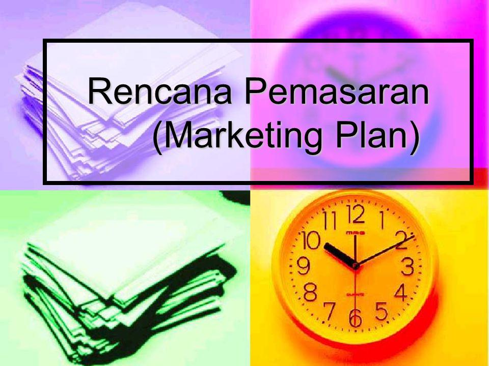 Rencana Pemasaran (Marketing Plan)