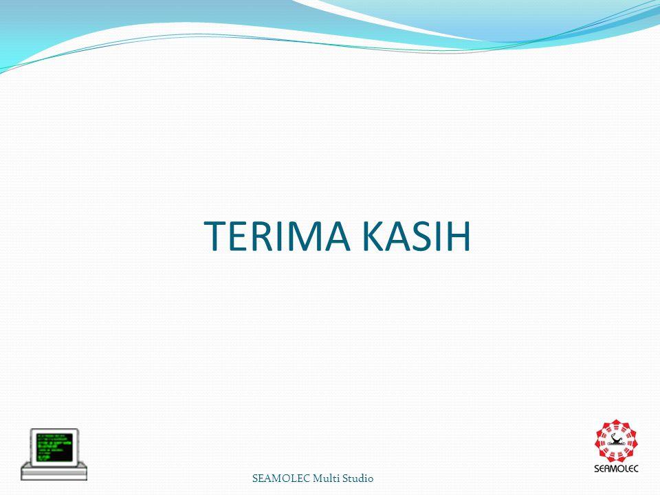 TERIMA KASIH SEAMOLEC Multi Studio