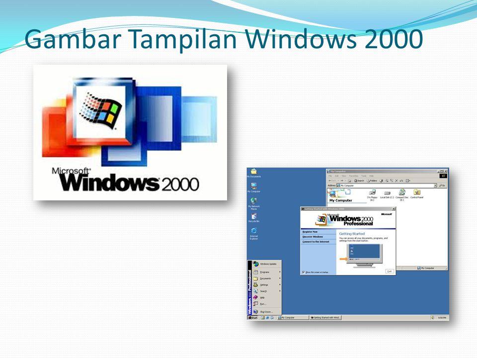 Gambar Tampilan Windows 2000