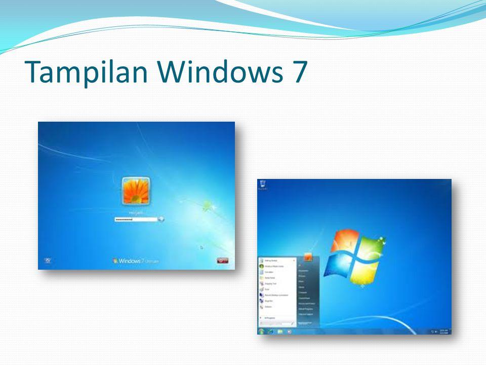 Tampilan Windows 7