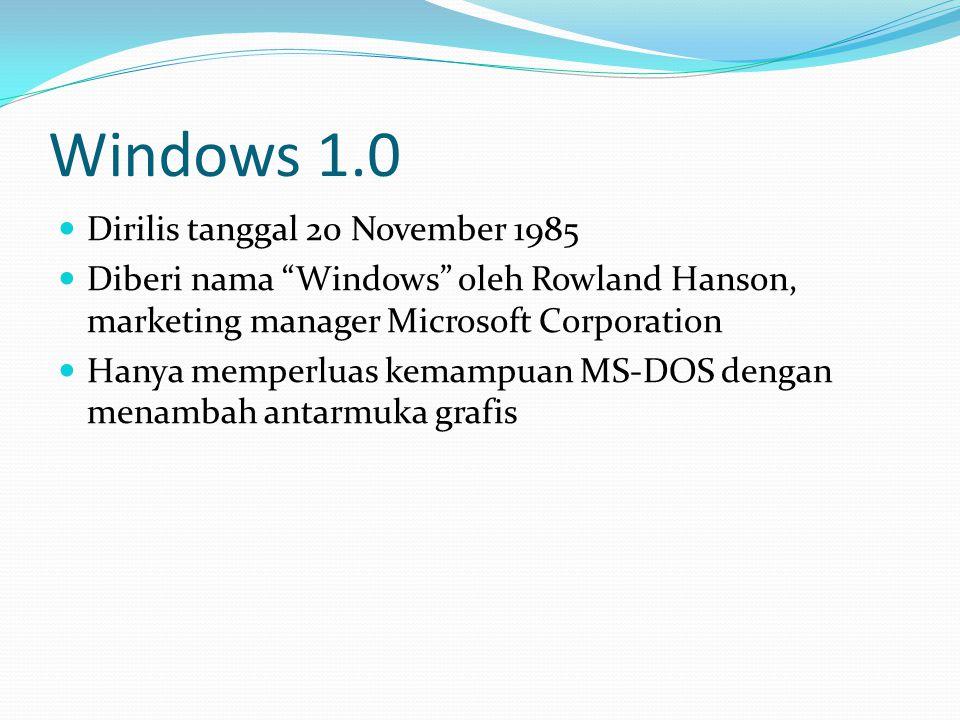 Windows Mobile 6.1 Dirilis 1 April 2008 Penyempurnaan dari Windows Mobile 6.1 Fitur baru : threaded SMS, full page zooming in IE and Domain Enroll (digunakan untuk mengkoneksikan konsol dengan System Center Mobile Device Manager 2008)