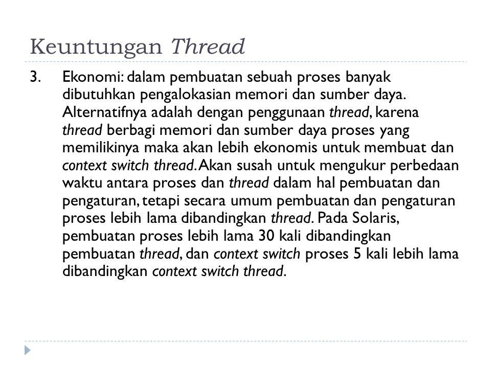 Keuntungan Thread 4.