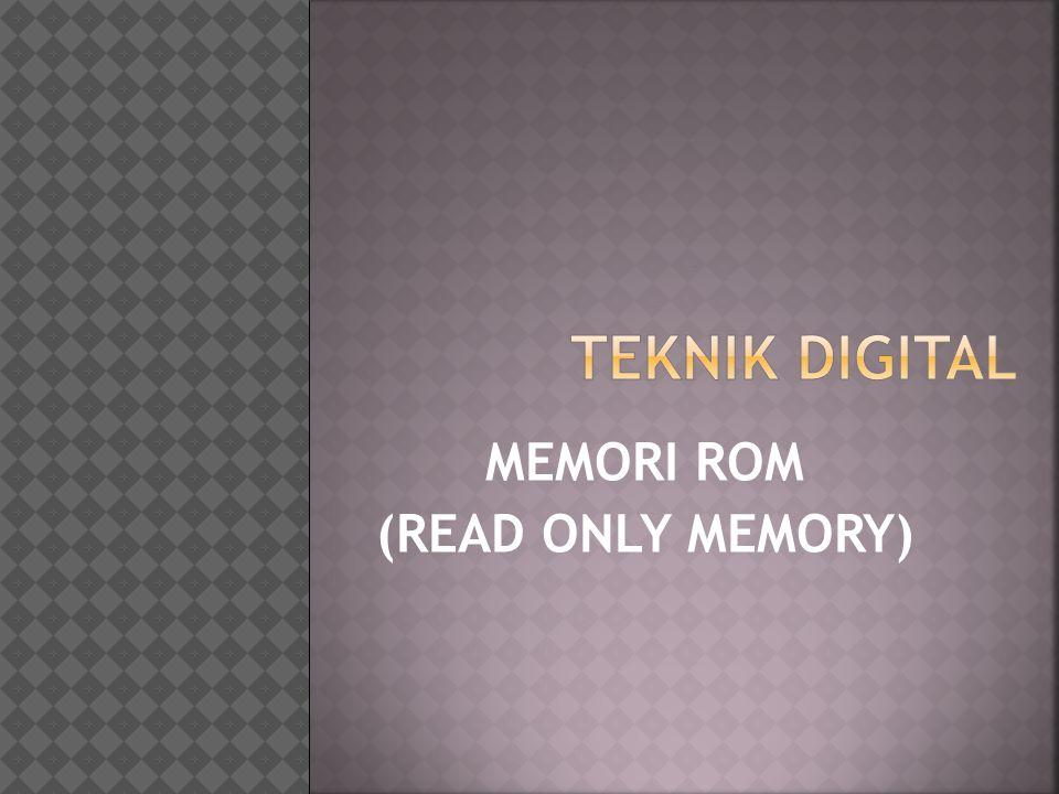 Memori adalah perangkat yang berfungsi mengolah data dan instruksi.