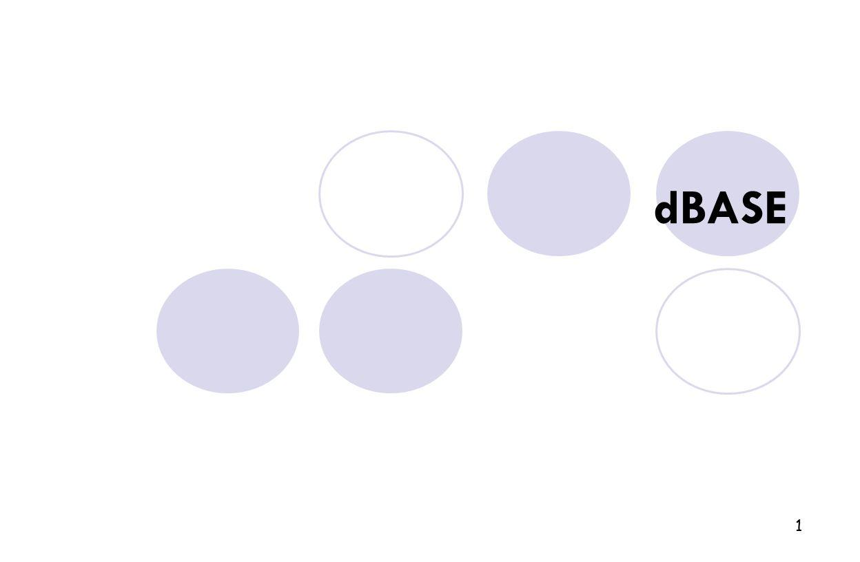 1 dBASE