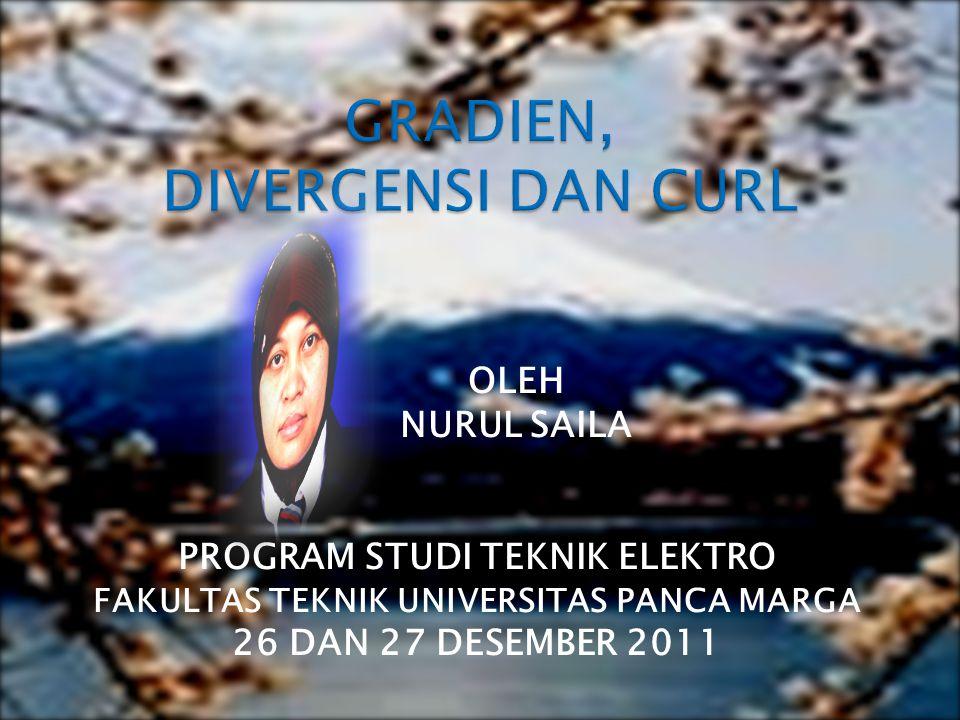 OLEH NURUL SAILA PROGRAM STUDI TEKNIK ELEKTRO FAKULTAS TEKNIK UNIVERSITAS PANCA MARGA 26 DAN 27 DESEMBER 2011