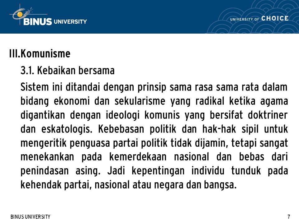 BINUS UNIVERSITY8 3.2.