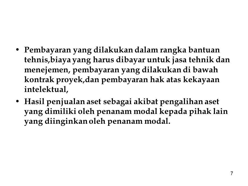 8 Tugas Mahasiswa 1.Jelaskan apa yang menjadi dasar hukum dari penanaman modal di Indonesia sekarang ini .
