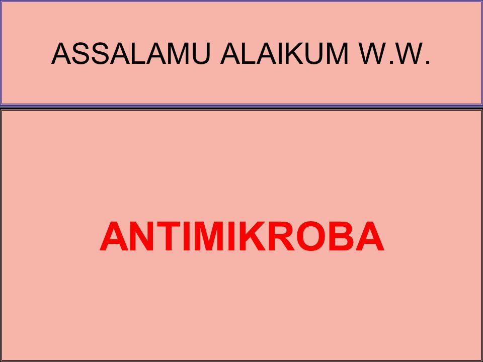 ANTIMIKROBA … 1.PENGANTAR AM 1.