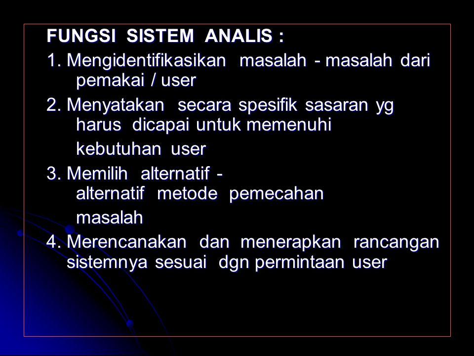 Sistem Terbuka (open system) Sistem ini kebalikan dari sistem tertutup, karena sistem terbuka adalah sistem yg Sistem ini kebalikan dari sistem tertut