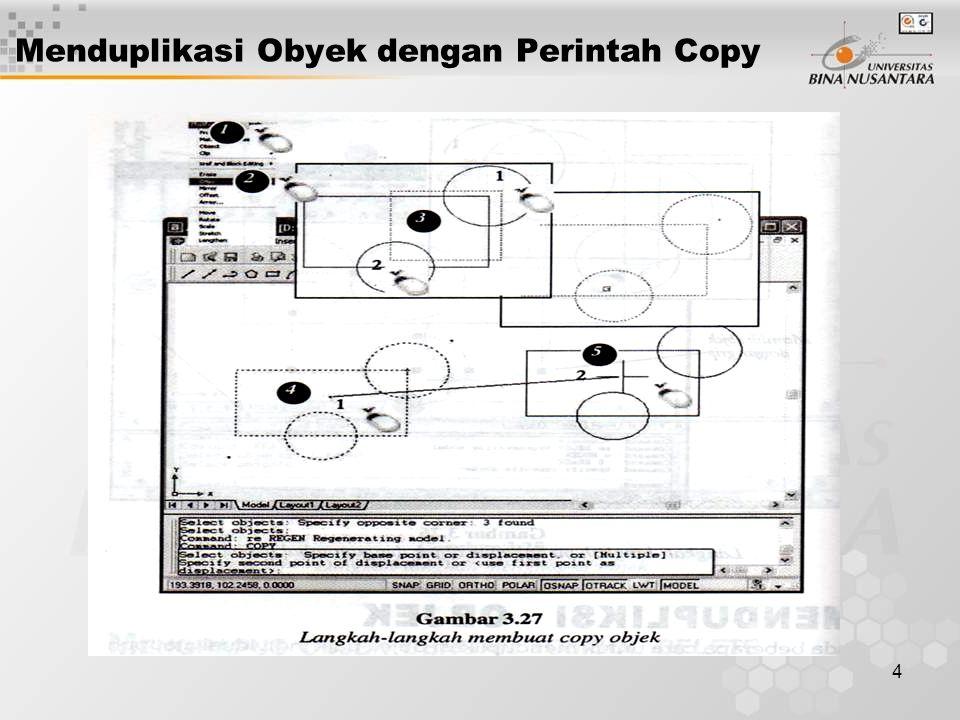 4 Menduplikasi Obyek dengan Perintah Copy