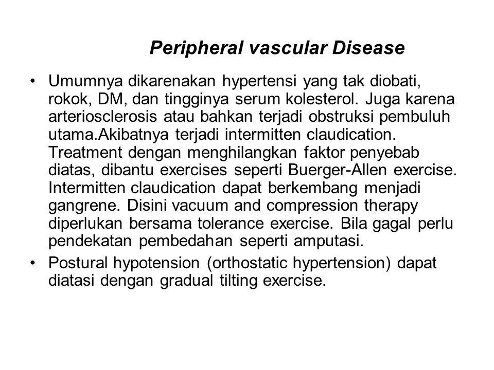 Umumnya dikarenakan hypertensi yang tak diobati, rokok, DM, dan tingginya serum kolesterol.