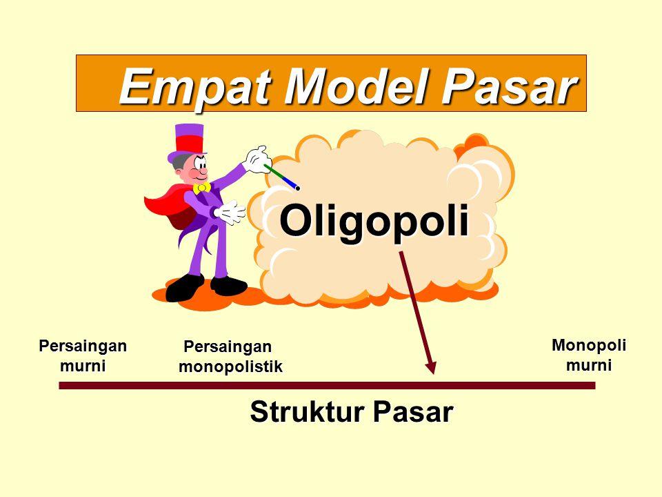 Empat Model Pasar Struktur Pasar Persainganmurni Monopolimurni Persainganmonopolistik Oligopoli