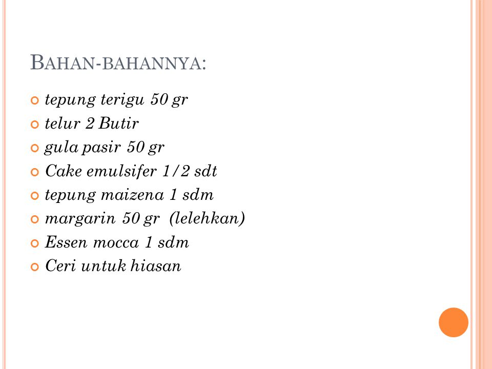 R ESEP KUE TART MINI by:Hanif Nurrahman