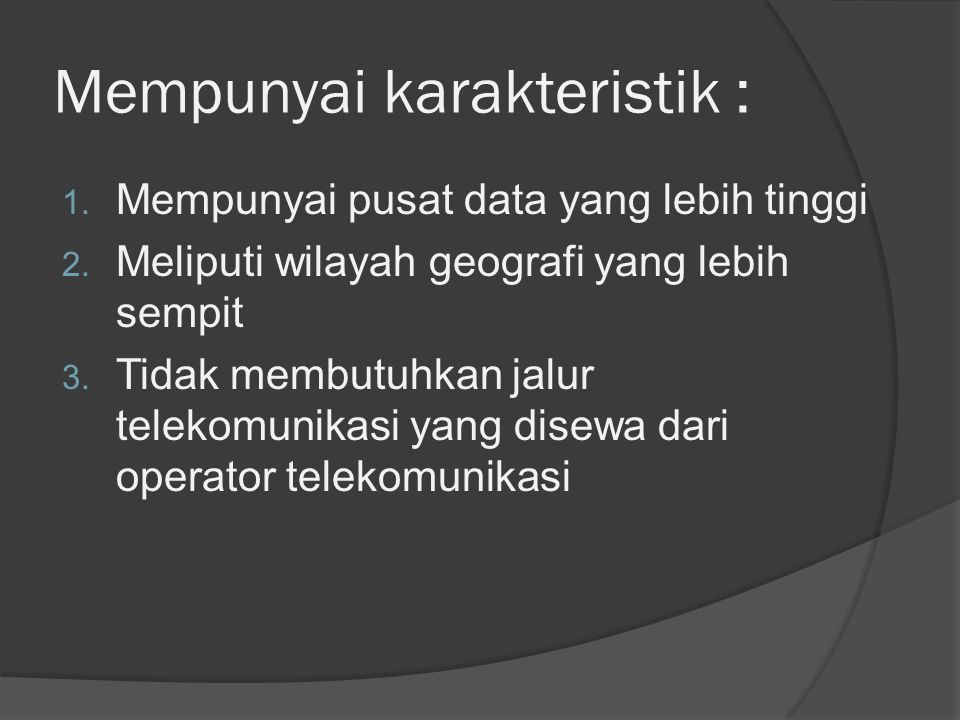 WAN SLEMAN Wirelles Network