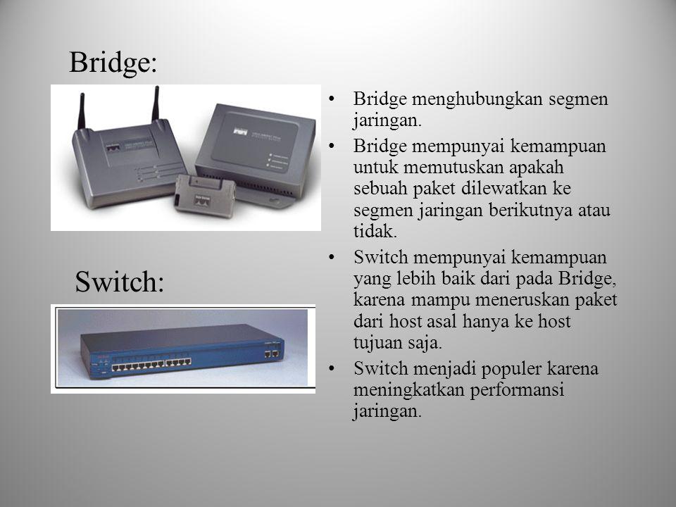 5. NIC NIC (Network Interface Card)  Adalah perangkat yang dipasang pada motherboard yang menyediakan port untuk dihubungkan dengan jaringan mengguna