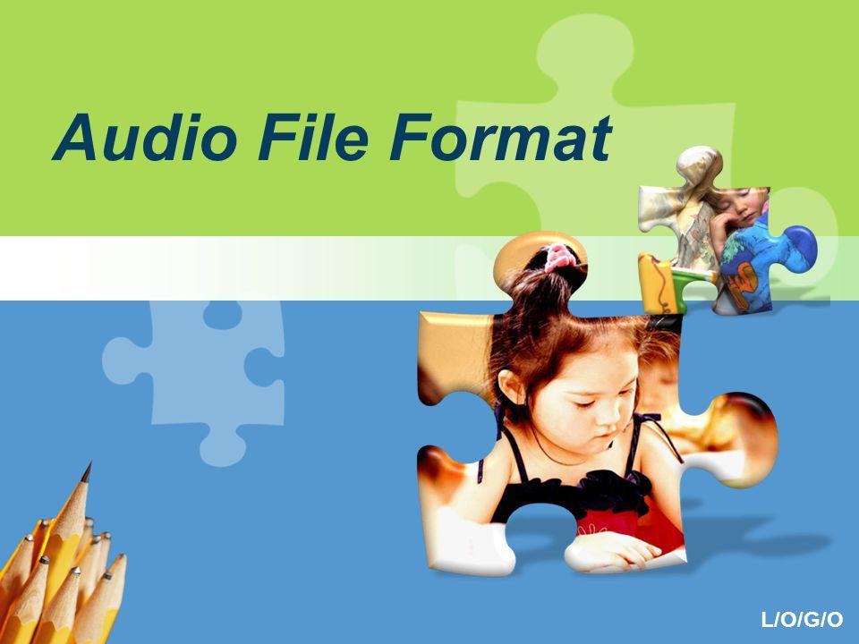 L/O/G/O Audio File Format