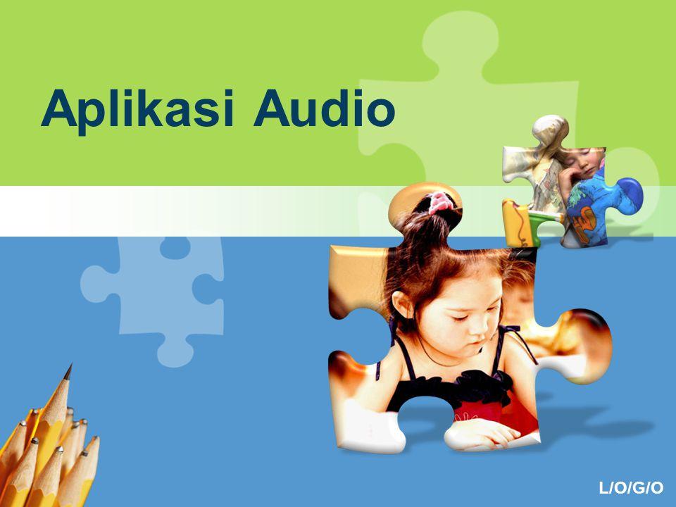 L/O/G/O Aplikasi Audio