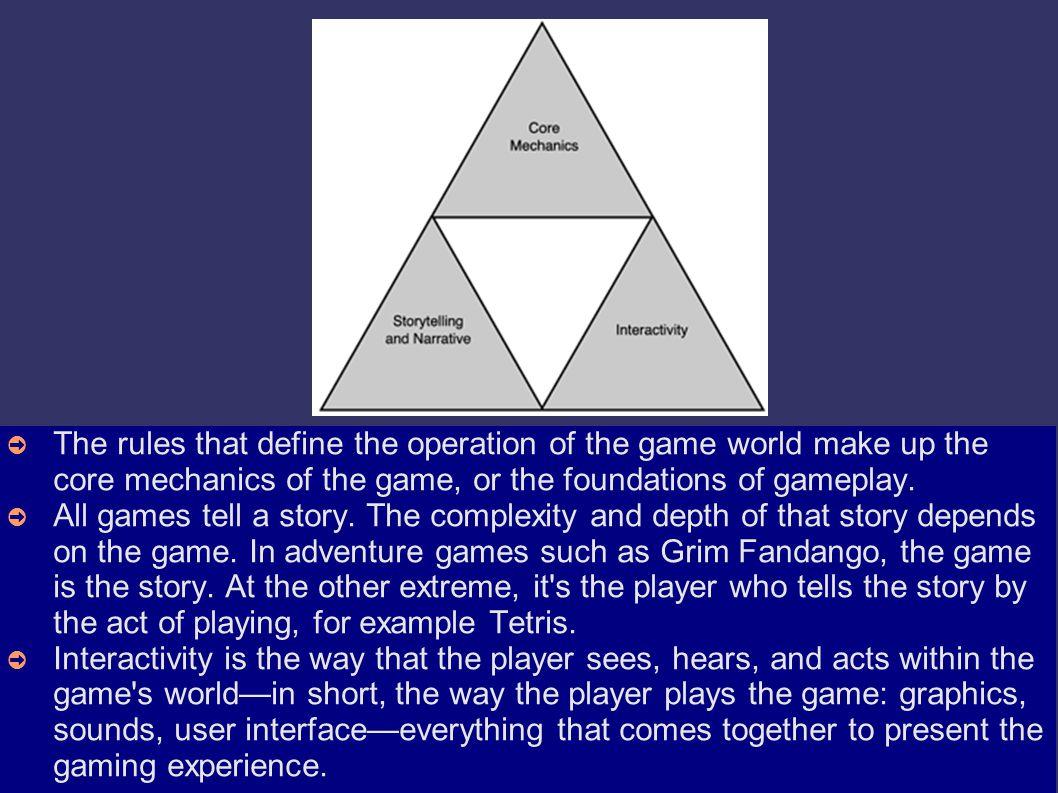 Element Game (1) ➲ Nonton tivi, film bioskop dan membaca bersifat pasif.