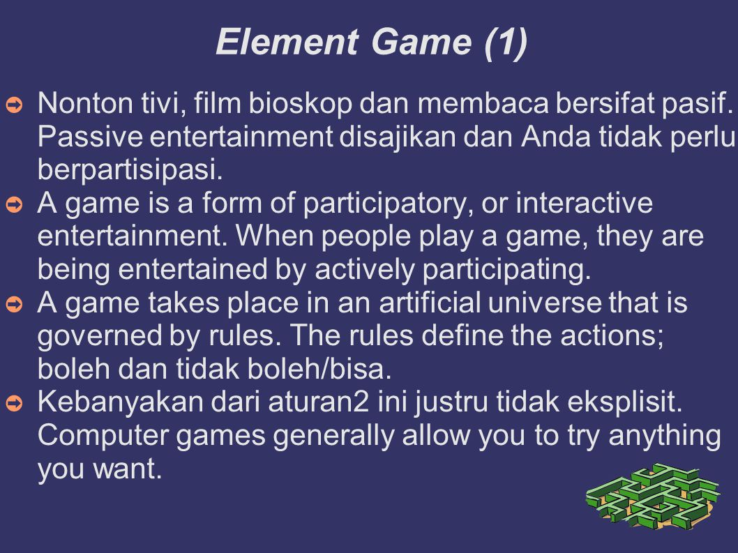 Game Designer 1.Lead Designers/Visionary 2. Game Mechanics 3.