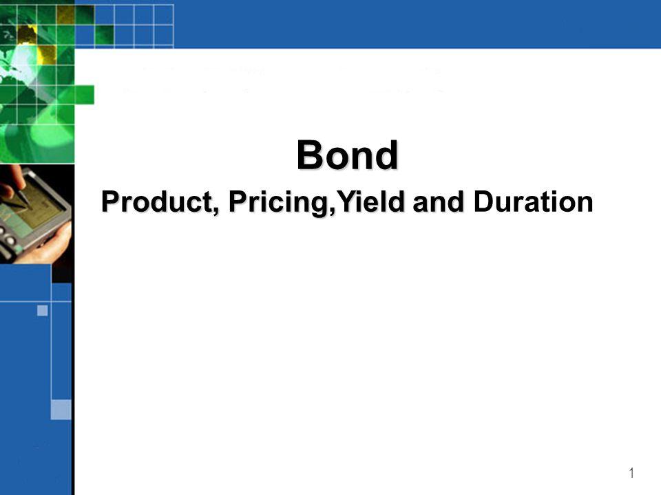 32 ILUSTRASI 4 o Sebuah obligasi diterbitkan oleh PT X mempunyai nilai nominal Rp 10.000,- dan memberikan coupon Rp 1.200,- selama 5 tahun.