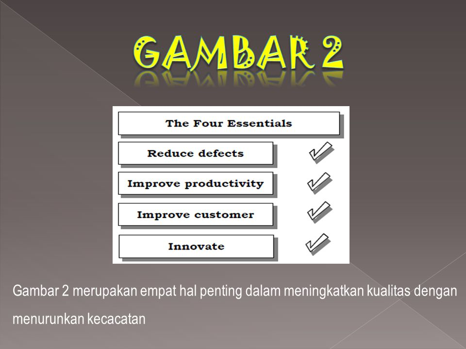 Ada lima prinsip, TQM yang didirikan.1. Berkonsentrasi pada pelanggan.