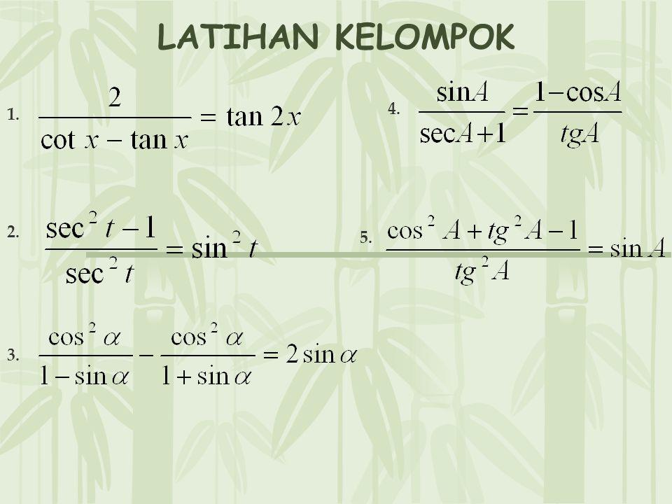 LATIHAN KELOMPOK 1. 2. 3. 4. 5.