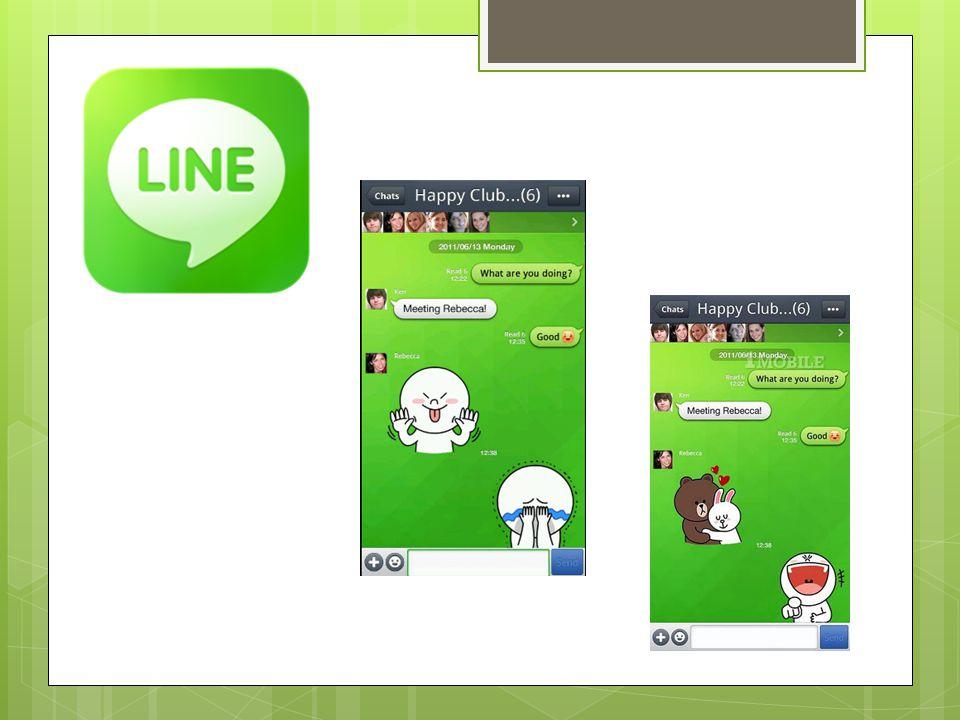 Sejarah -LINE dikembangkan oleh perusahaan Jepang bernama NHN Corporation.