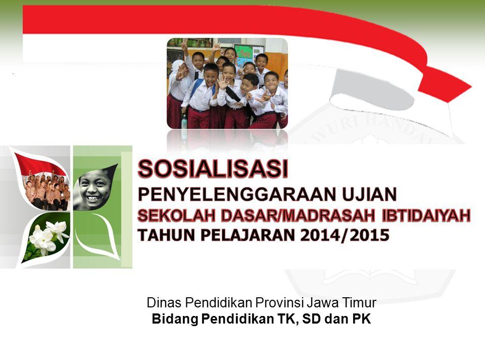 Dinas Pendidikan Provinsi Jawa Timur Bidang Pendidikan TK, SD dan PK