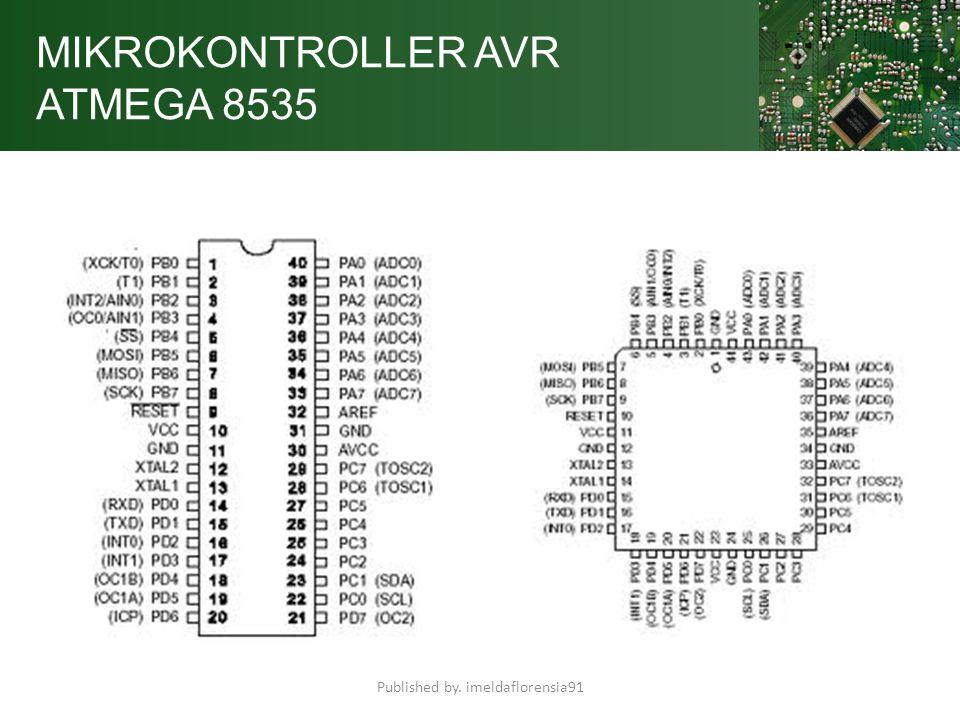 MIKROKONTROLLER AVR ATMEGA 8535 Minimum sistem mikrokontroler adalah sebuah rangkaian paling sederhana dari sebuah mikrokontroler agar IC mikrokontroler tersebut bisa beroprasi dan deprogram.