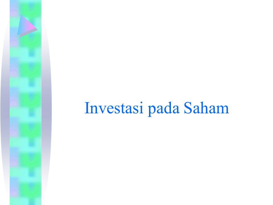 Investasi pada Saham