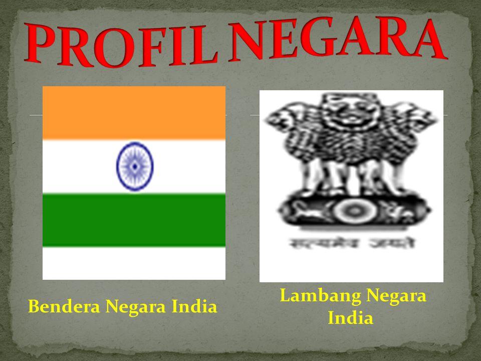 Bendera Negara India Lambang Negara India