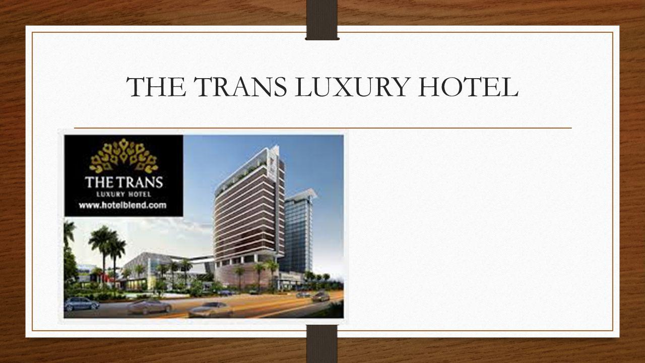 Bertempat di kompleks Trans Studio Theme Park, The Trans Luxury Hotel Bandung menawarkan kamar modern yang dilengkapi dengan iPod dock.