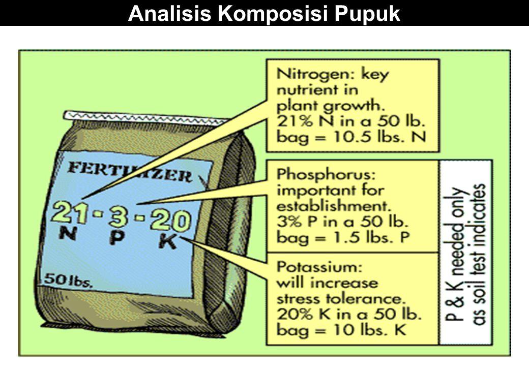 Analisis Komposisi Pupuk