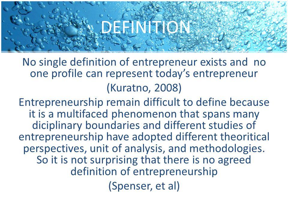 Simpulkan apa itu entrepreneur?