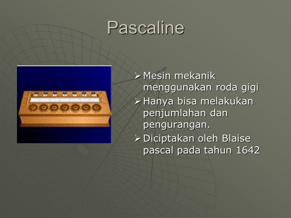 Abacus  Dianggap sebagai komputer pertama 5000 SM