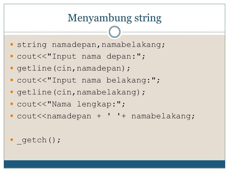 Thank You for your attention Thanks to: Pemrograman C++ by Abdul Kadir Yoannita S.Kom & Hermawan S.Kom  Sumber slide http://www.tzuchi.or.id/perenungan.php?page=1  Renungan