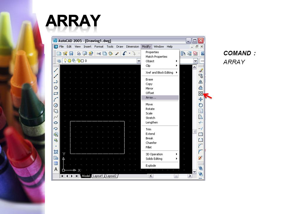 COMAND : ARRAY
