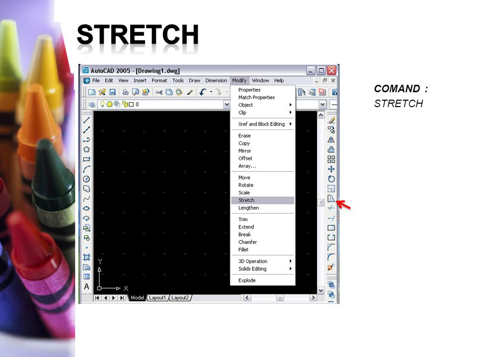 COMAND : STRETCH